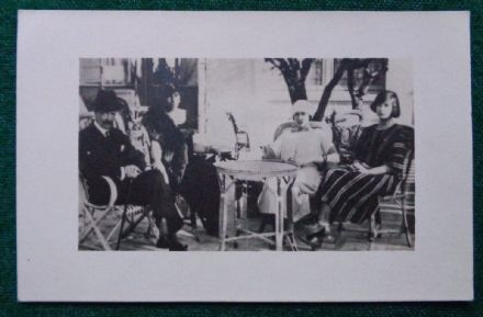 Antique Photo Postcard Grand Duke Kirill Grand Duchess Melita Princess Romanov